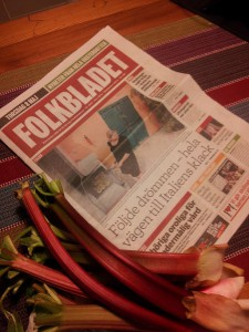 Västerbottens Folkblad & Rhubarbs