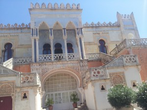 The back of an AMAZING mansion in Santa Cesarea Terme