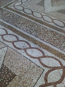Mosaic Flooring to die for...