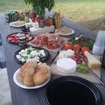 Feast at Casa Tomasi